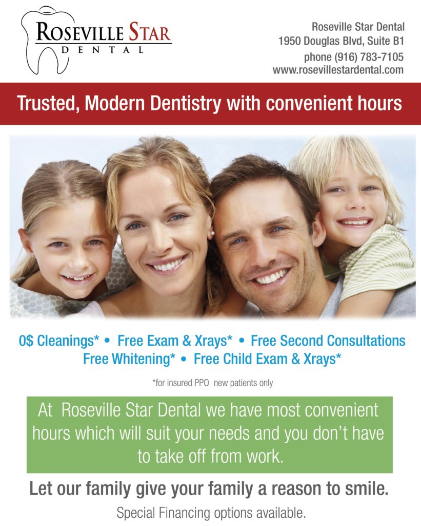 Roseville Dentist PPO flyer